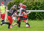 25 June 2017 at Hamilton Rugby Club. BAFA Premier north division match - East Kilbride Pirates v Merseyside, Nighthawks
