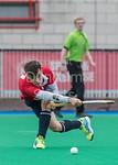 22 April 2017 at Peffermill, Edinburgh. Scottish National League Division 1 match - Edinburgh University v Kelburne