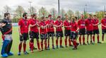 29 April 2017 at the National Hockey Centre, Glasgow Green. Scottish Hockey Men's Reserve Cup Final - Hillhead 3's v Grange 3